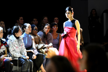 Catriona Gray H'Hen Nie Phuong My - Front Row - February 2019 - New York Fashion Week: The Shows