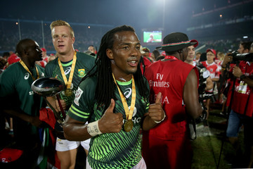 Cecil Afrika Emirates Dubai Rugby Sevens: HSBC Sevens World Series - Day Three