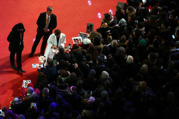Cecile De France Opening Ceremony & 'Isle of Dogs' Premiere Red Carpet - 68th Berlinale International Film Festival