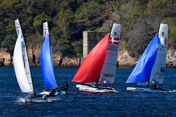 Cecilia Carranza Saroli International Sailing Regatta - Aquece Rio Test Event for Rio 2016 Olympics