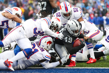 Cedric Thornton Oakland Raiders v Buffalo Bills