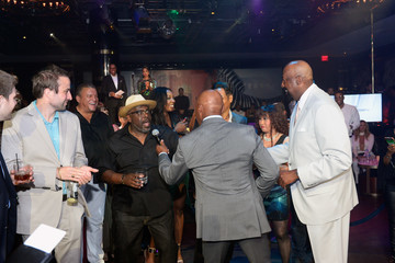 Cedric the Entertainer Coach Woodson Las Vegas Invitational Red Carpet and Pairings Party
