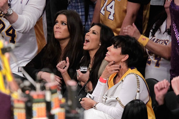 Courtside with the Stars - Celebs at Lakers Games