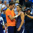 Rafael Nadal and Juan Martin Del Potro Photos