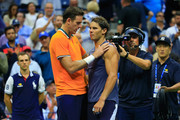 Rafael Nadal and Juan Martin Del Potro Photos Photo