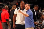 Chauncey Billups attends the BIG3 Championship at the Barclays Center on August 24, 2018 in Brooklyn, New York.
