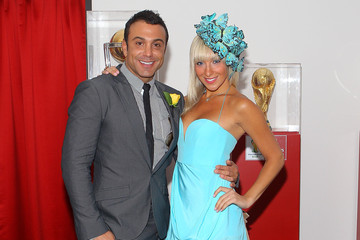 Carmelo Pizzino Celebrities Attend Emirates Melbourne Cup Day