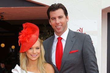 Candice Alley Celebrities Attend Emirates Melbourne Cup Day