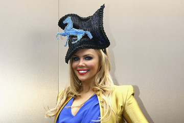 Chantelle Delaney Celebrities Attend Melbourne Cup Day