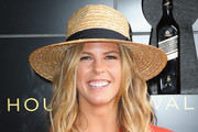 Torah Bright at the Johnnie Walker Marquee on Stakes Day at Flemington Racecourse on November 8, 2014 in Melbourne, Australia.