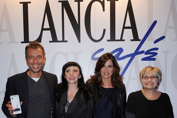 Ivan Cotroneo Monica Nappo Celebrities At The Lancia Cafe - November 2, 2011