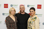 Rachel Antonoff, Gus Kenworthy and Alia Shawkat attend Celebrities Support LGBTQ Education at Point Honors Gala New York at The Plaza Hotel on April 08, 2019 in New York City.