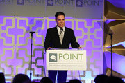 Jorge Valencia speaks onstage during Celebrities Support LGBTQ Education at Point Honors Gala New York at The Plaza Hotel on April 08, 2019 in New York City.