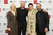 Rachel Antonoff, Gus Kenworthy, Alia Shawkat and Gabe Gonzalez attend Celebrities Support LGBTQ Education at Point Honors Gala New York at The Plaza Hotel on April 08, 2019 in New York City.