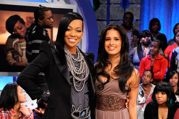 "Roxy Celebrities Visit BET's ""106 & Park"""