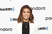 (EXCLUSIVE COVERAGE) Retired professional racing driver Danica Patrick visits the SiriusXM Studios on November 7, 2019 in New York City.