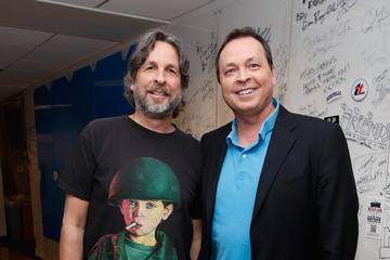 Peter Farrelly Bobby Farrelly Celebrities Visit SiriusXM
