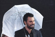 Rylan Clark during the Celebrity Big Brother eviction at Elstree Studios on January 30, 2018 in Borehamwood, England.
