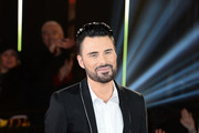 Rylan Clark at the final of Celebrity Big Brother at Elstree Studios on February 5, 2016 in Borehamwood, England.