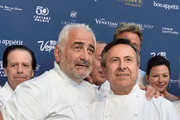 Daniel Boulud and Guy Savoy Photos - 1 of 12 Photo