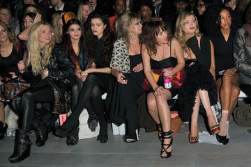 Jamie Winstone Celebrity Front Row Day 1 - LFW Autumn/Winter 2011