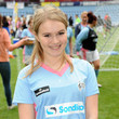 Melissa Suffield Celebrity Soccer Six 2012