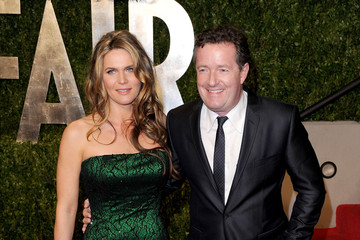Celia Walden 2011 Vanity Fair Oscar Party Hosted By Graydon Carter - Arrivals