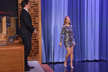 Celine Dion Celine Dion Visits 'The Tonight Show Starring Jimmy Fallon'