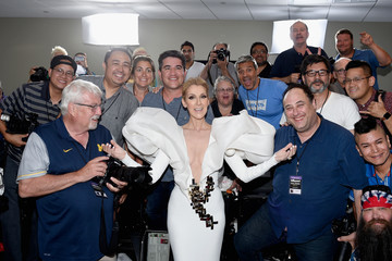 Celine Dion 2017 Billboard Music Awards - Press Room