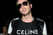 Miles Kane attends the Celine Spring Summer 2020 show as part of Paris Fashion Week on June 23, 2019 in Paris, France.
