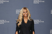Laverne Cox attends The Center for Reproductive Rights 2020 Los Angeles Benefit on February 27, 2020 in Beverly Hills, California.