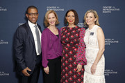 (L-R) Jim Johnson, Center for Reproductive Rights President Nancy Northup, Maya Rudolph and Elizabeth Banks attend The Center for Reproductive Rights 2020 Los Angeles Benefit on February 27, 2020 in Beverly Hills, California.