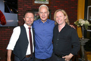 (L-R) Musician Danny Wilde of band The Rembrandts, actor James Michael Tyler, and musician Phil Solem of band The Rembrandts attend the Central Perk Pop-Up Celebrating The 20th Anniversary Of 'Friends' on September 16, 2014 in New York City.