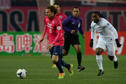 Diego Forlan in action during the AFC Champions League Group E match between Cerezo Osaka and Shandong Luneng FC at Nagai Stadium on March 11, 2014 in Osaka, Japan.