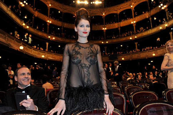 laetitia casta hot hairs. Laetitia Casta attends the