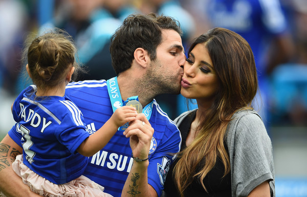 Image result for cesc fabregas and daniella semaan