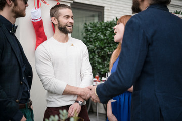 Chace Crawford Brooks Brothers Hosts Annual Holiday Celebration In Los Angeles To Benefit St. Jude - Inside