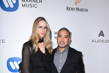 Chad Hugo Warner Music Group GRAMMY Party - Red Carpet