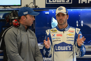 Chad Knaus Daytona International Speedway: Day 1