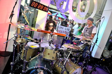 Chad Smith Andrew W.K Musicians Perform at the O Music Awards