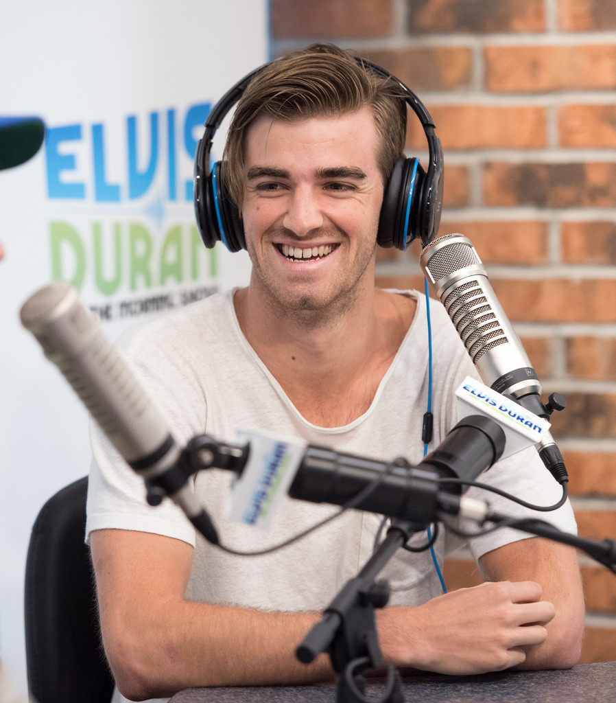 Andrew Taggart Photos Photos - The Chainsmokers Visit 'The ...