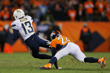 Champ Bailey Divisional Playoffs - San Diego Chargers v Denver Broncos