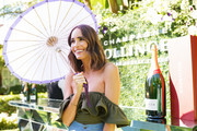 Louise Roe attends Champagne Bollinger and Asprey London host high tea & champagne soirée with Kelly Lynch & Carlota Espinosa at Beverly Hills Hotel on September 12, 2019 in Beverly Hills, California.