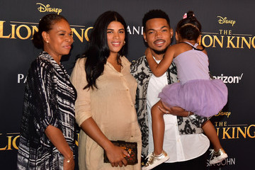 Chance the Rapper Kirsten Corley Premiere Of Disney's 'The Lion King' - Arrivals
