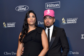 """Chance the Rapper Kirsten Corley Pre-GRAMMY Gala and GRAMMY Salute to Industry Icons Honoring Sean """"Diddy"""" Combs - Arrivals"""