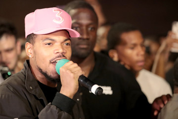 Chance the Rapper Chicago Residents Hold Summer Of Peace March Against Gun Violence