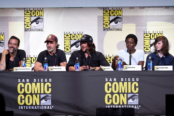 Chandler Riggs Comic-Con International 2016 - AMC's 'The Walking Dead' Panel