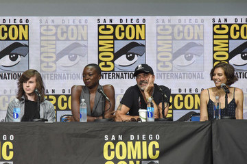 Chandler Riggs Comic-Con International 2017 - AMC's 'The Walking Dead' Panel