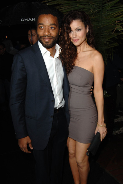 Chiwetel Ejiofor And Girlfriend At The World Premiere Of ... |Chiwetel Ejiofor Married