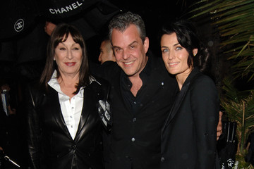 Anjelica Huston Danny Huston Chanel And Charles Finch Pre-Oscar Party Celebrating Fashion And Film